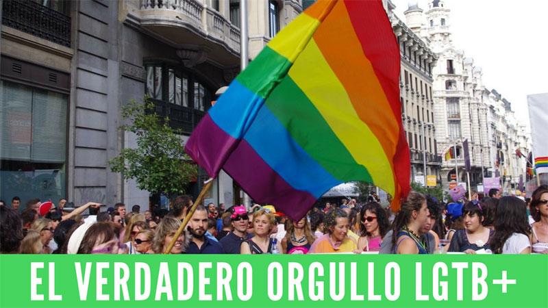 El verdadero Orgullo LGTB+