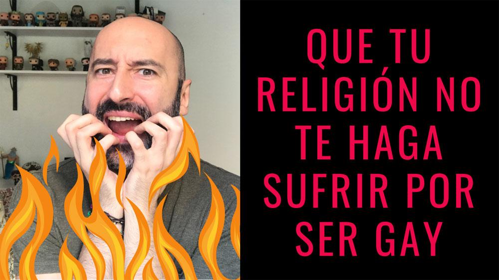 ¿Cómo te hace sentir tu religión por ser gay?