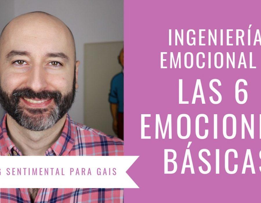 Ingeniería Emocional: las seis emociones básicas